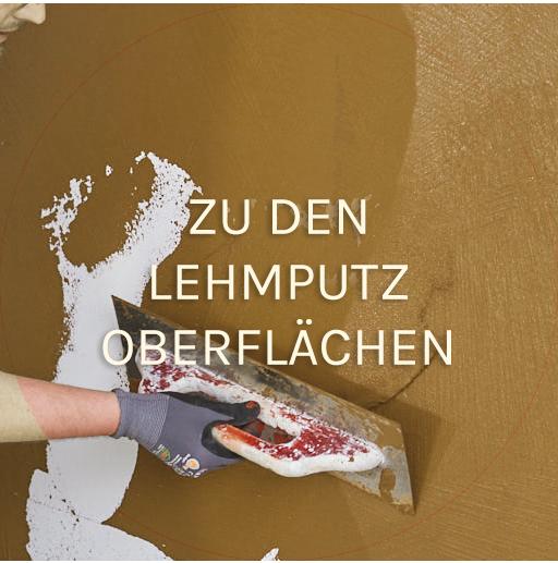 Lehmputz 1 - Ökologische Anstriche